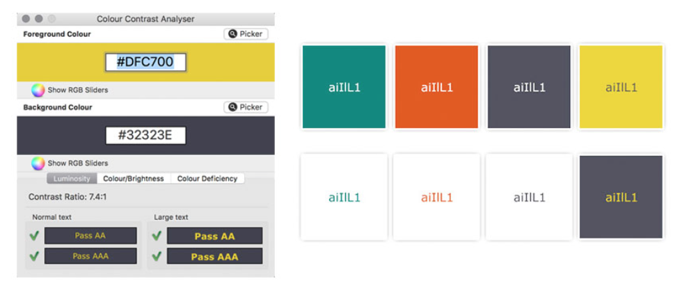 Tips to Create an Accessible and Contrasted Color Palette